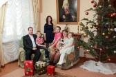 Рождественское фото для хабаровских семей