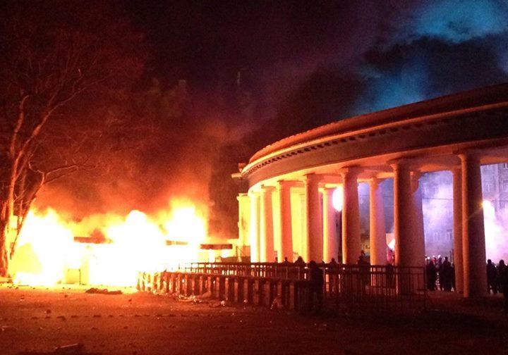 «Динамо» в огне, или Почему я не иду протестовать против «злочинной» власти