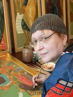 Почила о Господе основательница иконописной мастерской Екатерина Ильинская
