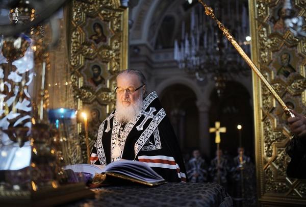 Великопостная служба Святейшего Патриарха Кирилла