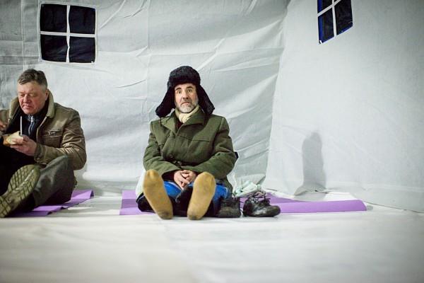 Ангар спасения открыт в Москве