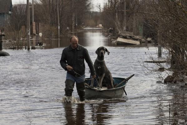 Валентин Егоршин. Про наводнение