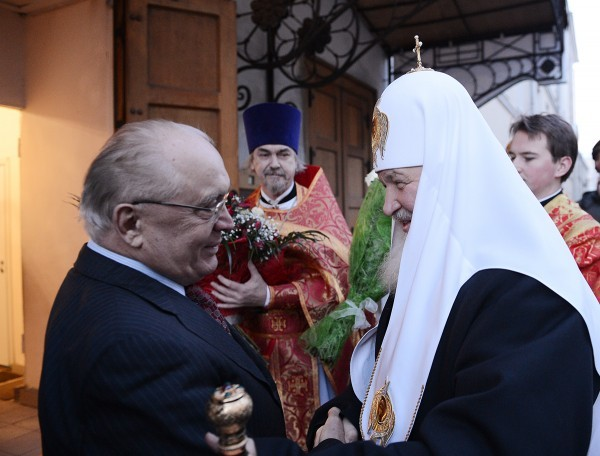 В день памяти святой мученицы Татианы Патриарх Кирилл совершил литургию в домовом храме МГУ