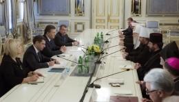 Управделами УПЦ принял участие во встрече президента Украины с представителями церквей и религиозных организаций Украины