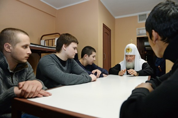 Святейший Патриарх Кирилл посетил следственный изолятор № 5 г. Москвы
