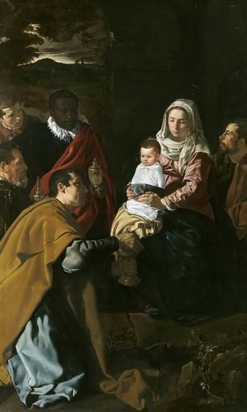 Диего Веласкес. Поклонение волхвов. 1619 г. Национальный музей Прадо, Мадрид, Испания