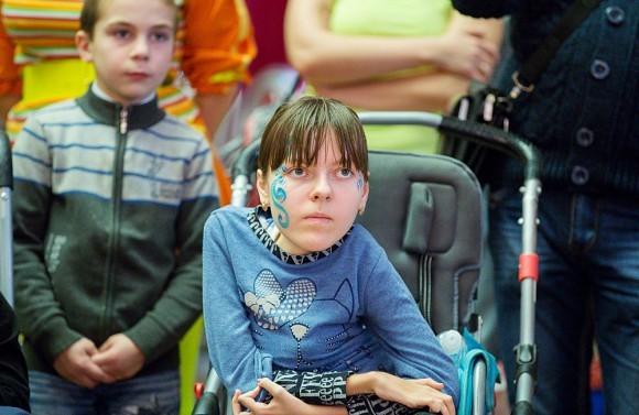 Ёлка для детей-инвалидов