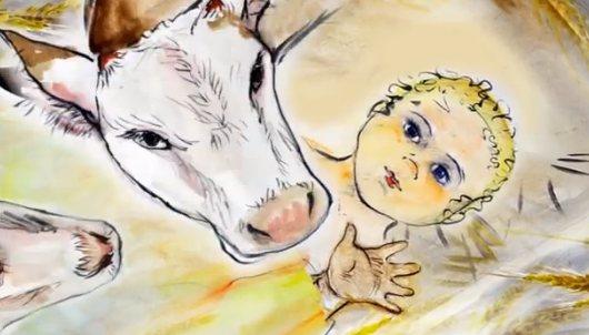 Тобольские студенты-иконописцы сняли рождественский мультфильм