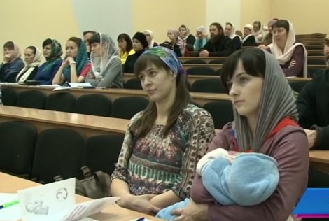 Первый съезд православных матушек прошел на Алтае