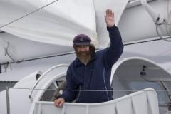Священник Федор Конюхов преодолел сильнейший шторм в Тихом океане