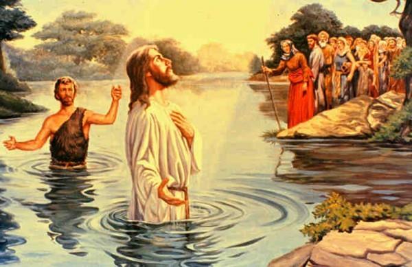 Крещение Господне: рисунок