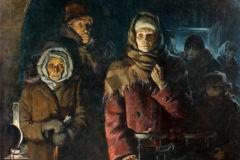 В ту зиму перестали помогать свалившимся от истощения