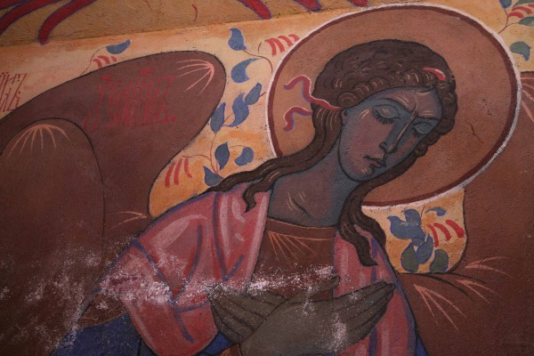 Фрески Павла Корина в Марфо-Мариинской обители