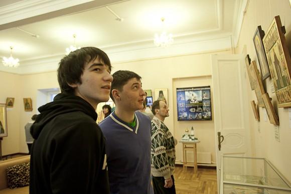 Выставка икон студентов ПСТГУ