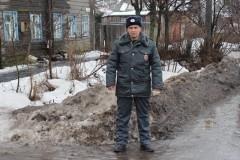 В Костромской области полицейский спас жизнь пожарному