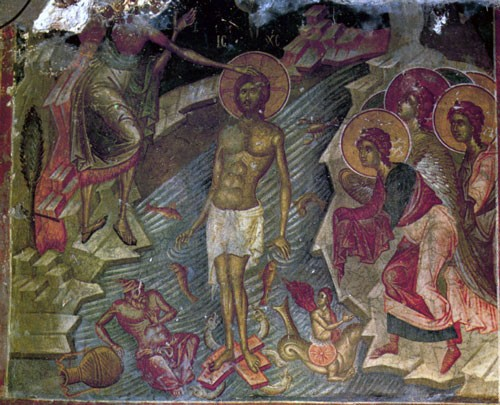 Фреска. Кастория. Церковь святого Афанасия ту Мусаки. 1386 г.