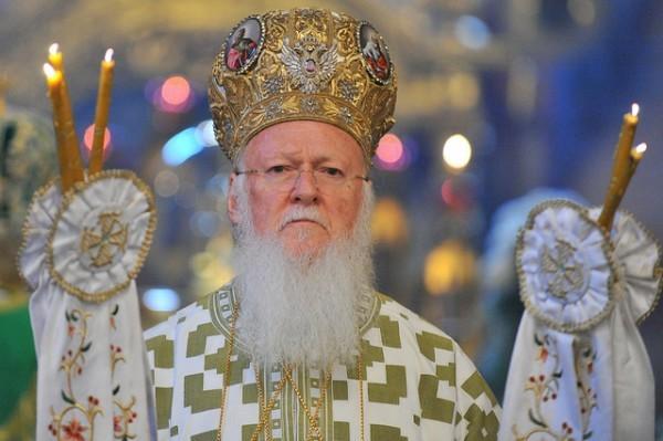 Украина наградила Вселенского Патриарха Варфоломея орденом Свободы