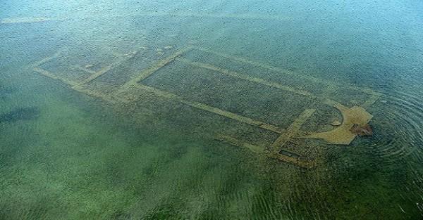 В окрестностях Никеи на дне озера обнаружена древняя базилика