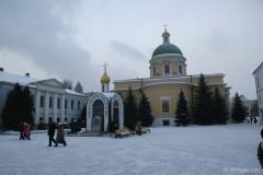 Данилов монастырь организует святочные гуляния и самую высокую в Москве ледяную горку