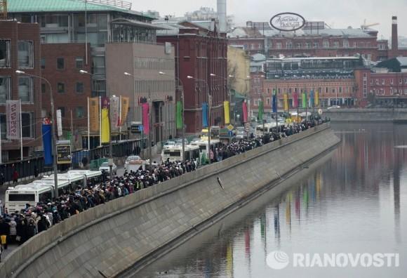 Более полумиллиона россиян поклонились Дарам волхвов за десять дней