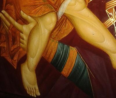dostoynoest Всемирното Православие - В РУМЪНСКИ МАНАСТИР E ЗАПОЧНАЛО ДА МИРОТОЧИ КОПИЕ НА ИКОНАТА НА БОЖИЯТА МАЙКА «ДОСТОЙНО ЕСТЬ»