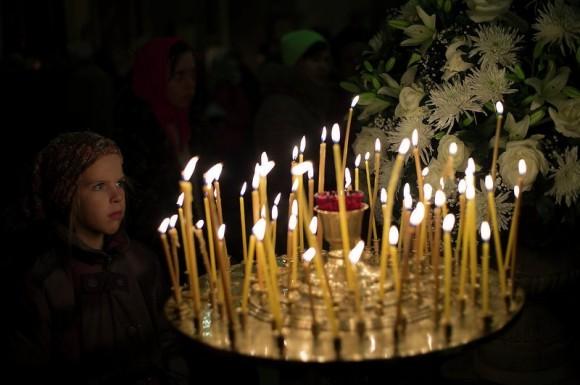 Рождественское богослужение в Москве посетили 230 тыс. человек