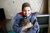 Красноярский школьник спас из горящей квартиры любимого кота