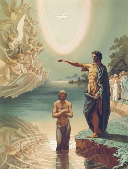 Крещение Господне: картинки