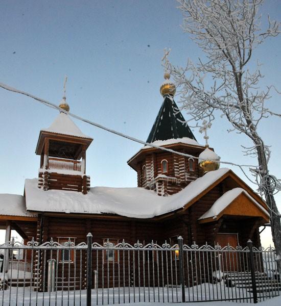 Новый храм освятили на Чукотке