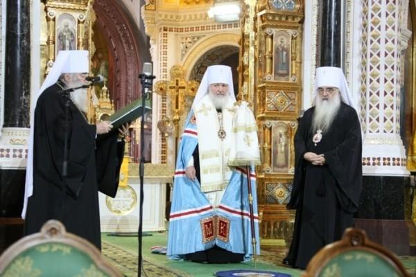 5 лет назад на Патриарший Престол был избран митрополит Смоленский и Калининградский Кирилл