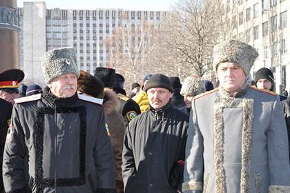 В Донецке для поддержания порядка организовали казачьи патрули