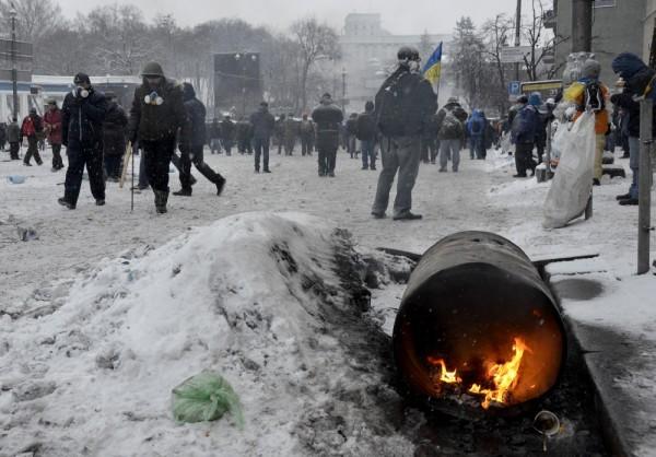 В городах Западной Украины начались захваты административных зданий