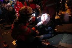 В результате столкновений в Киеве госпитализированы более 70 человек
