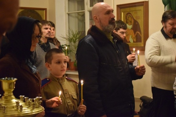 В Петербурге установлен киот в память генерала Белой армии Дроздовского