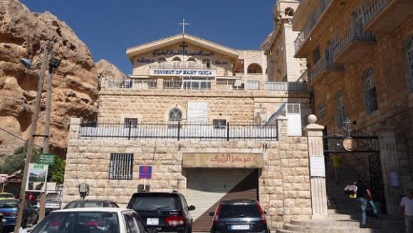 В Вифлееме Патриарх Иерусалимский помолился о похищенных в Сирии христианах