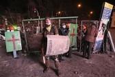 После столкновений в Киеве появились сообщения о двух погибших
