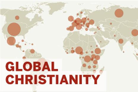 За 100 лет число христиан в мире увеличилось почти в 4 раза