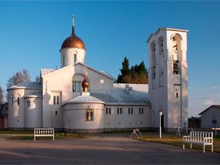 В Финляндии пострадал от пожара уникальный православный монастырь