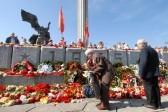 Жители Риги выступили против сноса памятника советским воинам