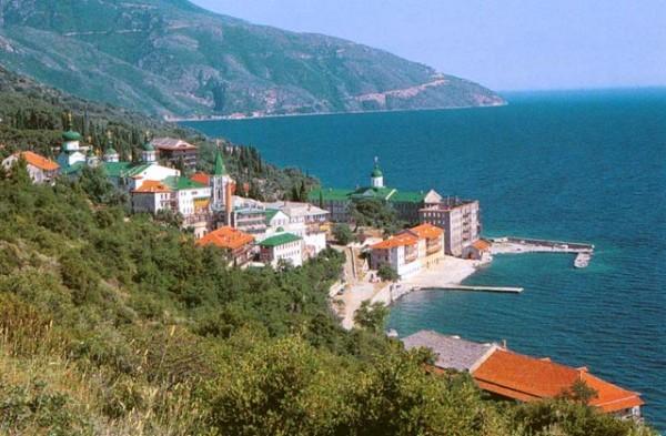 Пантелеимонов монастырь на Афоне
