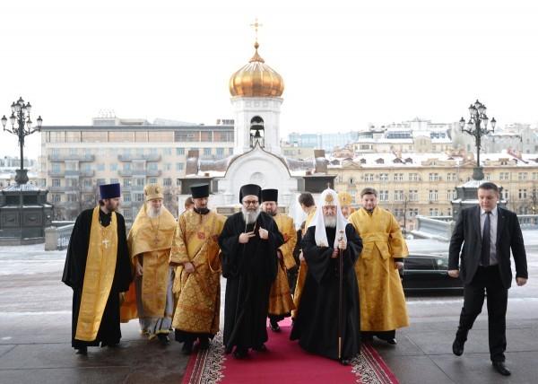 Рождественские чтения в Москве открыли два православных Патриарха