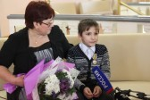 В Томске школьник Саша Кирасов спас малышей, упавших под лед