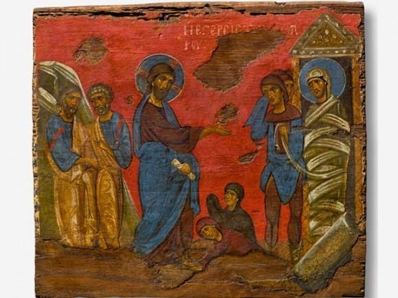 """В США проходит выставка византийских икон """"Небо и земля"""""""