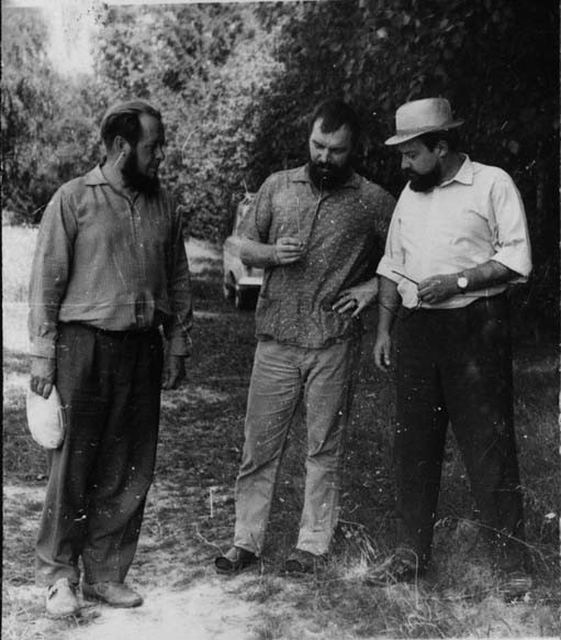 Прот. Александр Мень, Александр Солженицын. 1960-е гг.