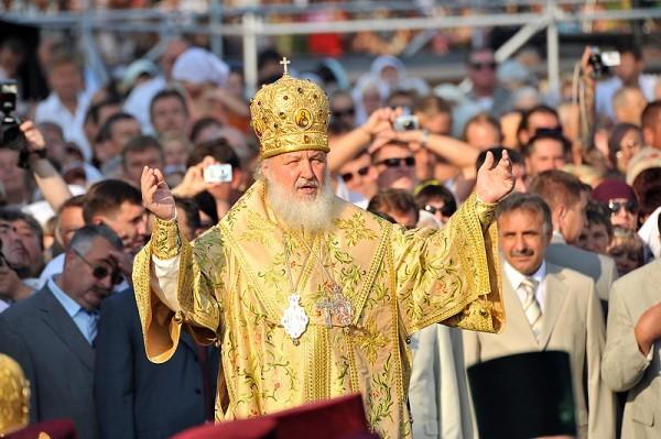 Патриарший визит на Украину. День седьмой. Божественная литургия в Свято-Владимирском соборе Херсонеса