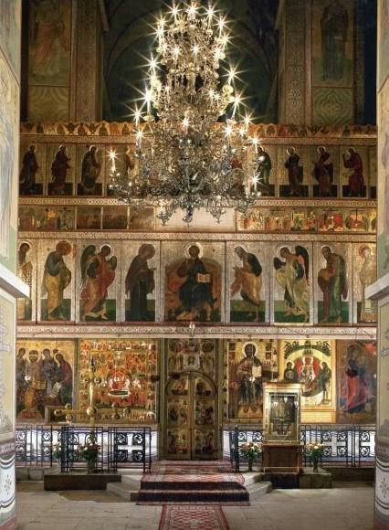 В Софийском соборе в Киеве досрочно закрылась выставка икон