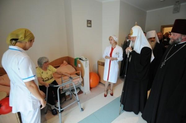 Патриарший визит в Белоруссию. День второй. Посещение Дома милосердия в Минске