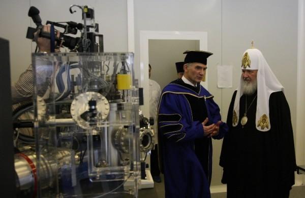 Встреча Святейшего Патриарха Кирилла с преподавателями и студентами МИФИ