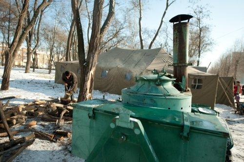 Более 55 тысяч человек спасены в украинских пунктах обогрева