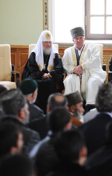 Визит Святейшего Патриарха Кирилла в Азербайджан. Посещение Духовного управления мусульман Кавказа